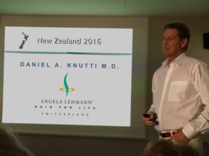 Presentation of new hair transplantation technique at the ICAPS 2016 Congress in New Zealand